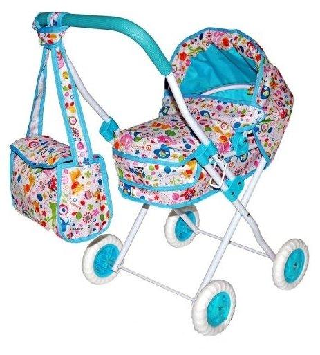 Коляска-люлька Mary Poppins Фантазия с сумкой 67315