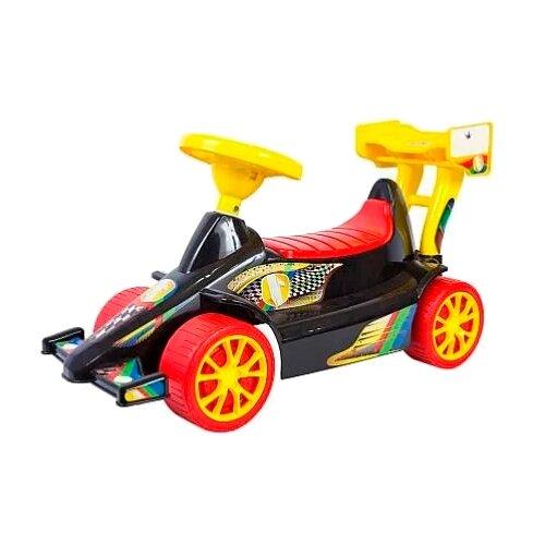Купить Каталка-толокар RT Super Sport 1 ОР894 (5309 / 5310) со звуковыми эффектами черный/красный, Каталки и качалки