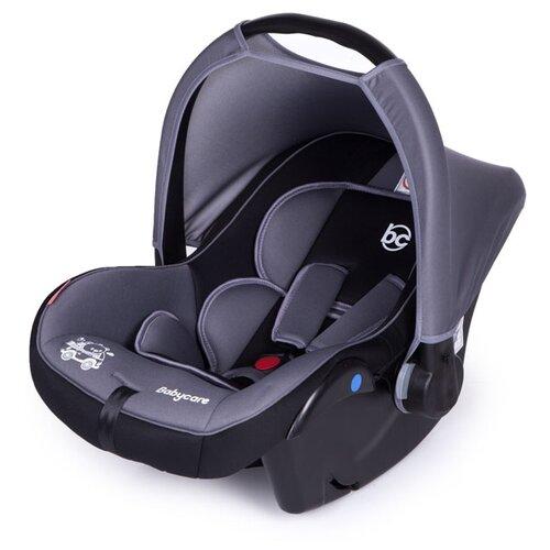 Автокресло-переноска группа 0+ (до 13 кг) Baby Care Lora, grey/black автокресло группа 1 2 3 9 36 кг little car ally с перфорацией черный