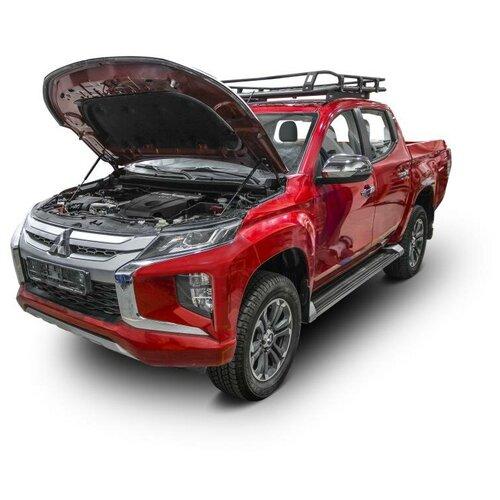 Упоры капота АвтоУпор MITSUBISHI L-200 с 2018 года выпуска газовые упоры капота автоупор для jeep renegade 2014 2018 2 шт ujeeren011