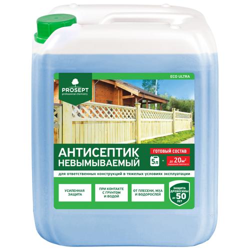 Фото - PROSEPT антисептик Eco Ultra, 5 л антисептический грунт для древесины prosept eco universal 5 л
