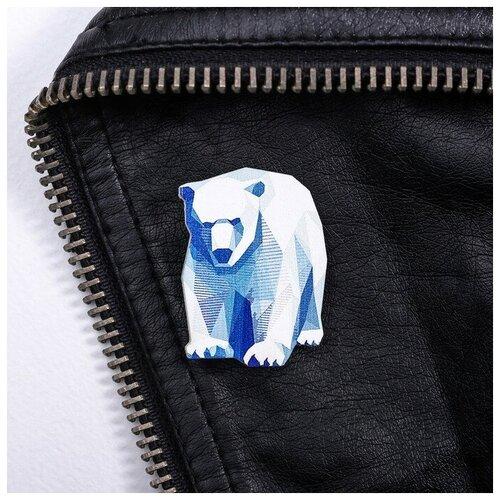 Sima Land Значок «Мурманск. Медведь»