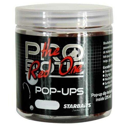 Бойлы плавающие Starbaits PROBIOTIC Red Pop Up 14мм 0.06кг