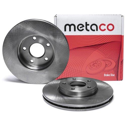 Диск тормозной передний вентилируемый Metaco 3050-002