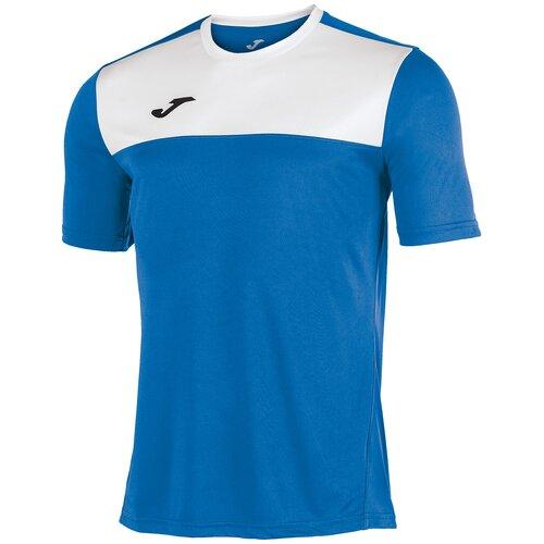 Футболка joma размер L, светло-синий/белый