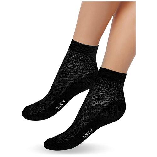 Женские носки Touch арт.263, цвет черный, размер 23-25, 1 пара