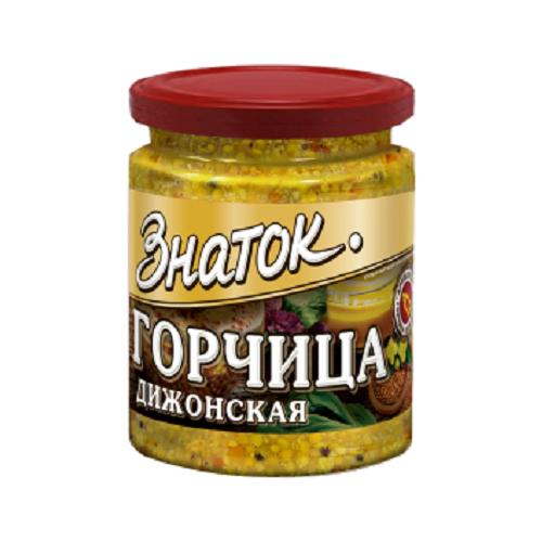 Горчица Дижонская Знаток -0,170 кг) стекло Калининград