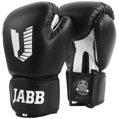 Перчатки бокс.(иск.кожа) Jabb JE-4068/Basic Star черный 12ун.
