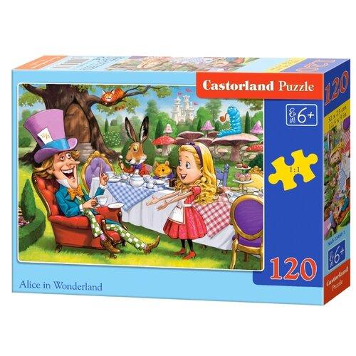 Купить Пазл Castorland Alice in wonderland (B-13456), 120 дет., Пазлы