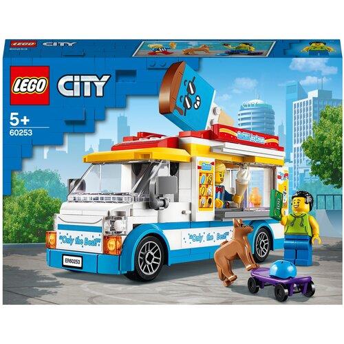 Конструктор LEGO City 60253 Грузовик мороженщика конструктор lego city 60214 пожар в бургер кафе