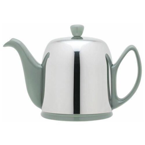 Фото - Чайник заварочный Salam Jade (0.7 л), с колпаком, на 4 чашки 236269 Guy Degrenne чайник заварочный salam white 0 37 л с колпаком с ситечком на 2 чашки 211987 guy degrenne