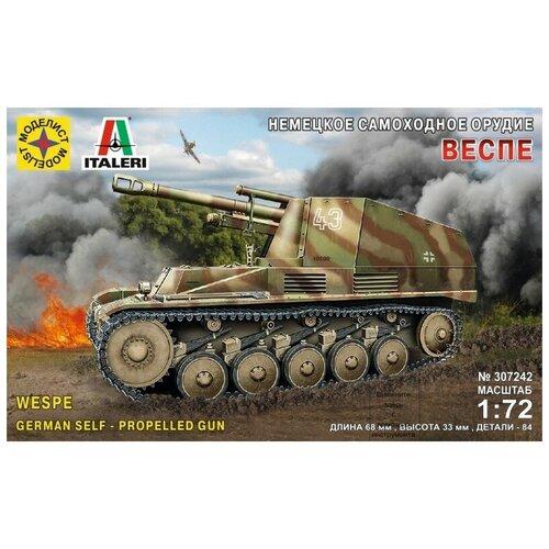 Модель для сборки Моделист Немецкое самоходное орудие Веспе (1:72), Сборные модели  - купить со скидкой