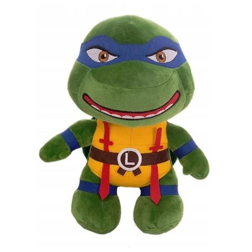 Мягкая игрушка - Черепашка Ниндзя синяя повязка (Леонардо), 25см