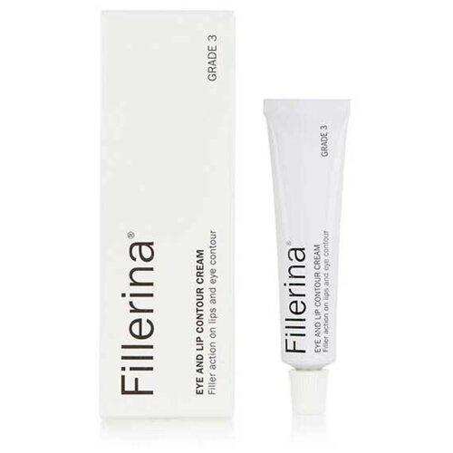 Fillerina Крем для глаз и контура губ Eye And Lip Contour Cream Grade 3, 15 мл