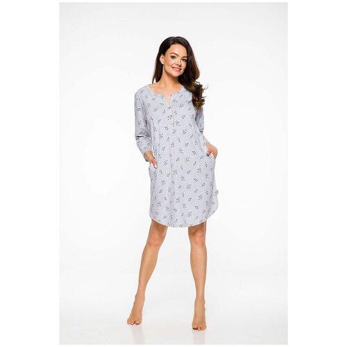 Фото - Сорочка Taro, размер M, серый сорочка taro размер m персиковый