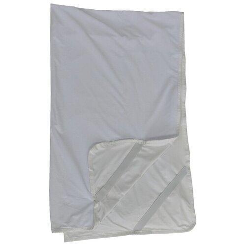 Наматрасник СПИМВСЕ Аква-стоп непромокаемый, 70х190 см белый