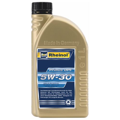 Синтетическое моторное масло Rheinol Primus DPF 5W-30 1л