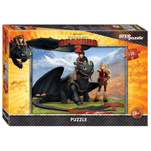 Пазл Step puzzle DreamWorks Драконы (75126), 120 дет.