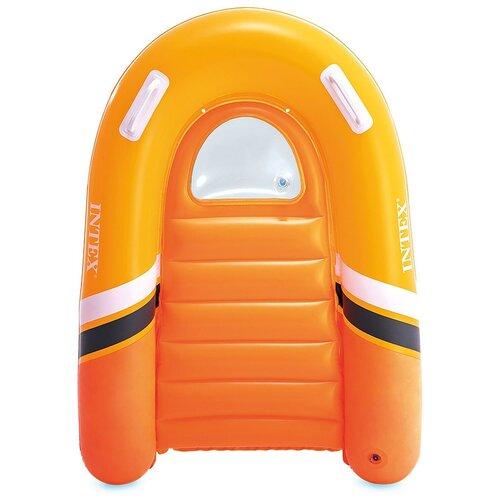 Надувной плот Intex И58154 оранжевый intex надувной плот intex pool school