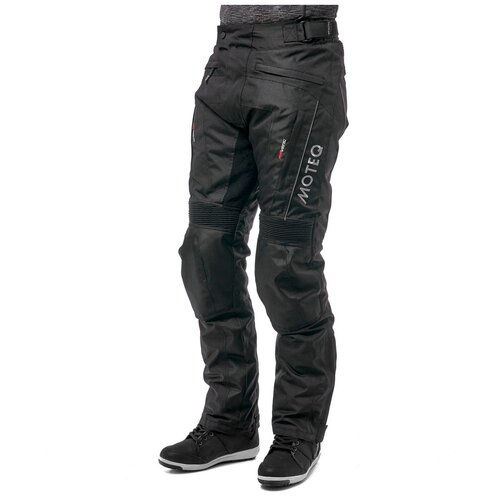 Штаны текстильные мужские DRAGO, удлиненные, Черный, XL