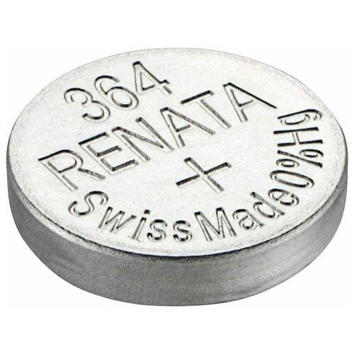 Фото - Батарейка Renata SR621SW, 1 шт., 5 уп. батарейка renata r 384 sr41sw 1 шт