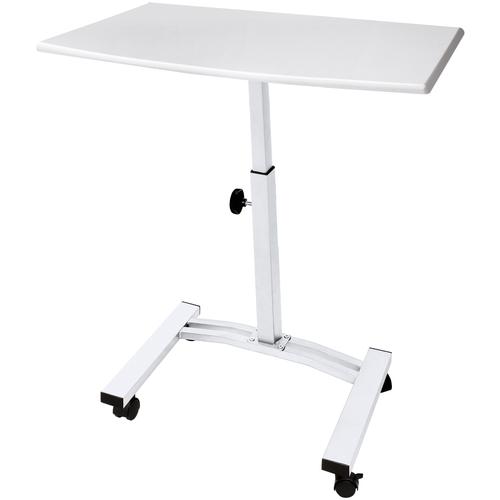 Рабочий стол ноутбука. Детский стол UniStor LION мобильный складной.