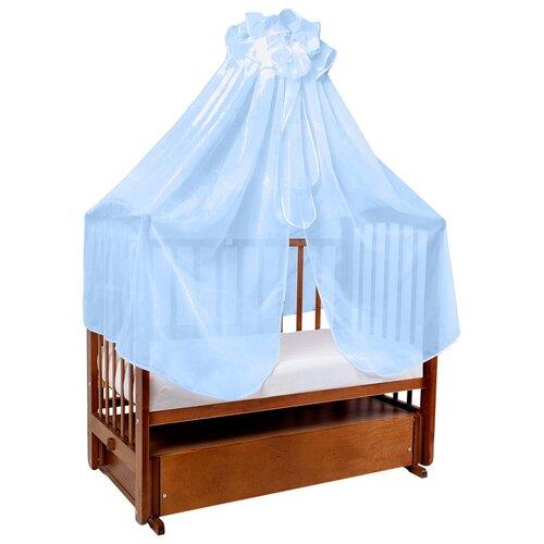 Балдахин Ангелочки Универсальный в сумке (вуаль 4 м) 2003 голубой