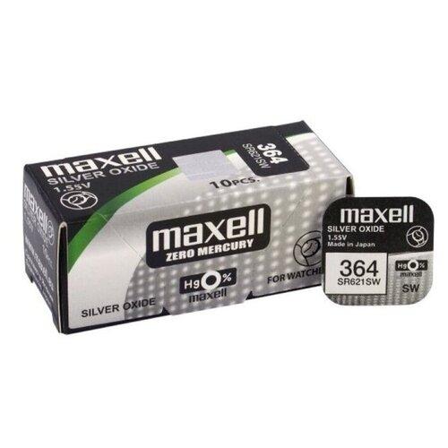 Фото - Батарейка Maxell SR-621SW, 10 шт. maxell mc tw3506 укф интерактив