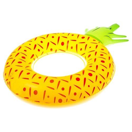 Круг для плавания Bradex Ананас DE 0476 желтый