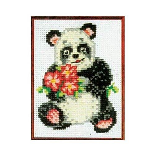 Сделай своими руками Набор для вышивания Панда 12 x 16 см (П-02) набор для вышивания сделай своими руками п 09 поварёнок