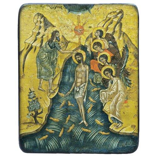 Икона Икона Крещение Господне (Богоявление), 25х28 см