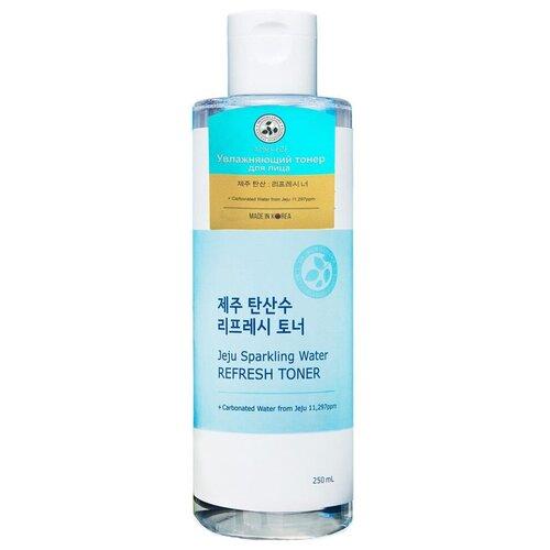 Shingmulnara Тонер увлажняющий с термальной водой Jeju Sparkling Water, 250 мл крем для лица shingmulnara jeju sparkling water гидрирующий 100 мл