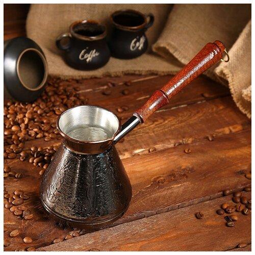 Турка для кофе медная 0,6 л «Море» 1069152 по цене 1 243