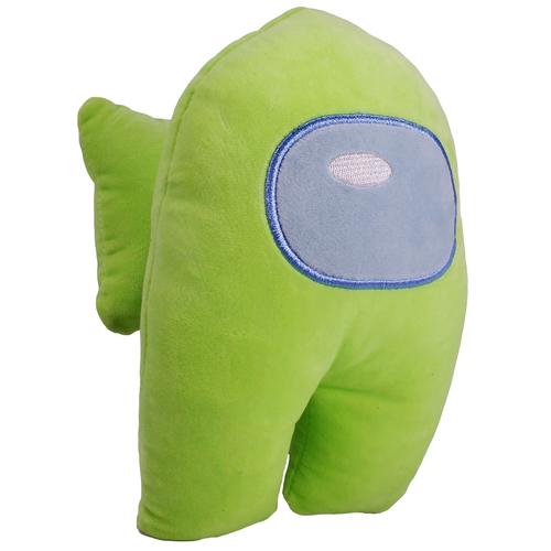 Мягкая игрушка Among Us 22 см, зеленый