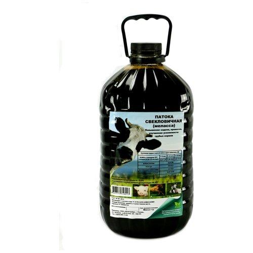 Патока свекловичная ( меласса) Бутылка 7 кг. 5 литров для кормов и рыбалки