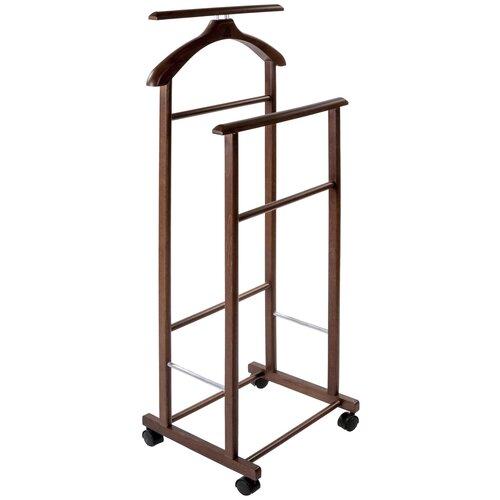Фото - Напольная вешалка Мебелик В 22Н средне-коричневый напольная вешалка мебелик в 21н средне коричневый