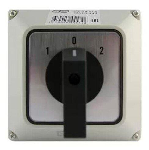 Переключатель кулачковый в корпусе LFC-5 (CA10) 100A 1-0-2 4P Энергия — купить по выгодной цене на Яндекс.Маркете