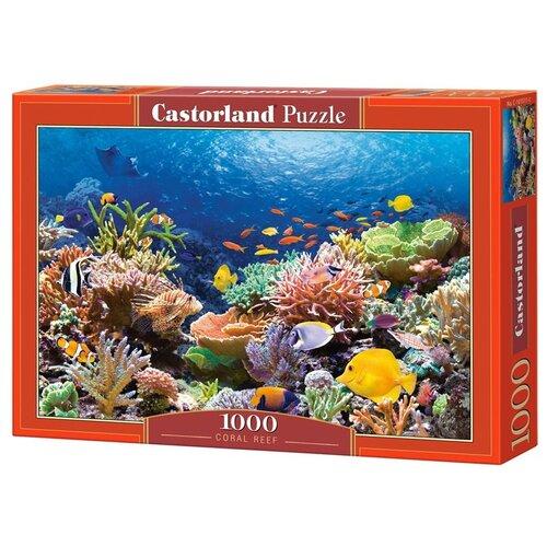 Купить Пазл Castorland Коралловый риф, 1000 деталей (С-101511), Пазлы