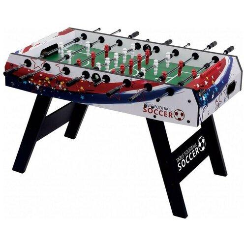 Игровой стол для футбола Weekend Patriot черный/белый игровой стол для футбола weekend stuttgart венге