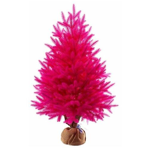 Фото - Царь елка Ель искусственная Сапфир (розовая), 80 см царь елка ель искусственная маг зеленая 90 см