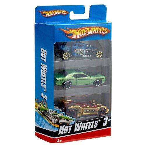 Купить Набор машинок Mattel Hot Wheels 3 машинки, Машинки и техника