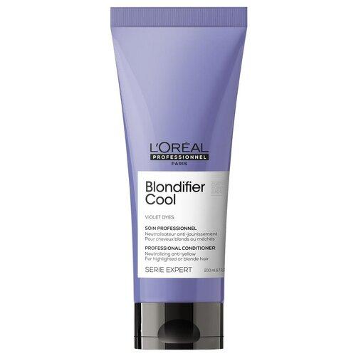 Купить L'Oreal Professionnel Кондиционер для волос Serie Expert Blondifier Cool для нейтрализации желтизны холодных оттенков блонд, 200 мл