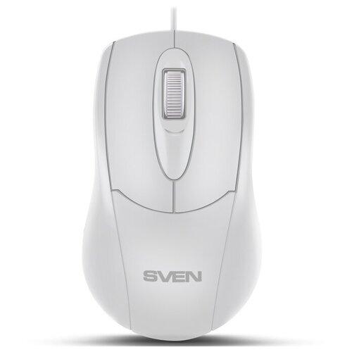 Фото - Мышь SVEN RX-110 USB, white sven rx g970 usb