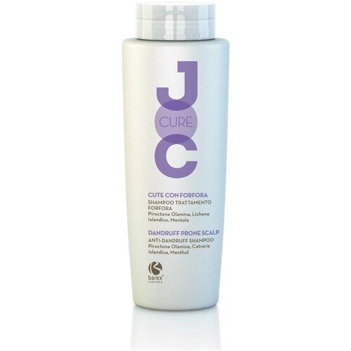 Фото - Barex Шампунь JOC CURE Anti-dandruff shampoo против перхоти с пироктон оламином и лавандой, 250 мл barex шампунь joc cure energizing против выпадения волос с имбирем корицей и витаминами 250 мл