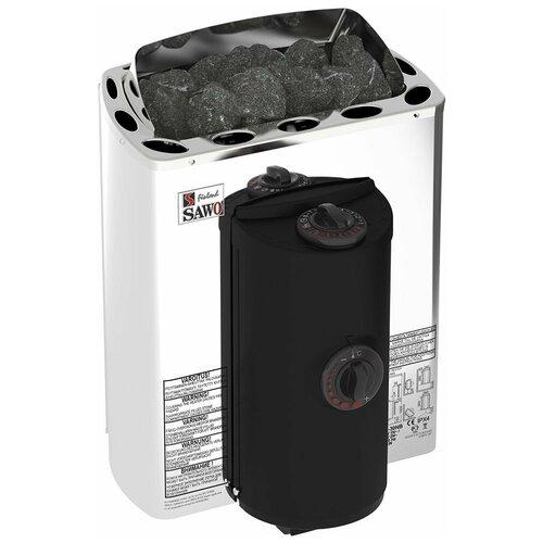 Электрическая банная печь Sawo Mini X MX-30NB-Z серебристый/черный