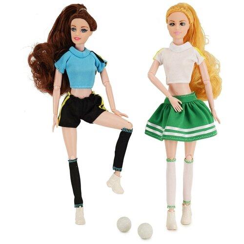 Набор кукол QIAN JIA TOYS Emily Футболистки, 28 см, HP1110861