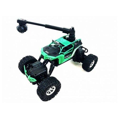 Купить Радиоуправляемый краулер-амфибия Crazon Crawler 4WD c WiFi FPV камерой CR-171604B, CREATE TOYS, Радиоуправляемые игрушки