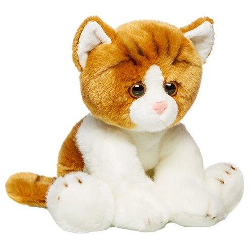 Купить Мягкая игрушка MaxiLife Котик сидячий бело-рыжий 30 см, Мягкие игрушки