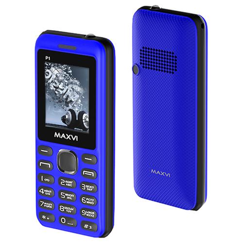 Телефон MAXVI P1 синий / черный