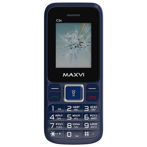 Телефон MAXVI C3n маренго